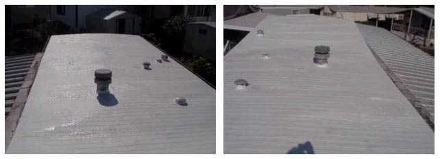 Home Inspection Report - Mobile Home Roof