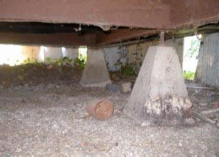 Home Inspection: Concrete & Steel Twish Jacks