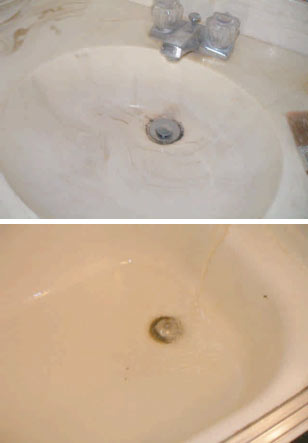 Home Inspection Westlake Village - Bathroom Sink & Tub