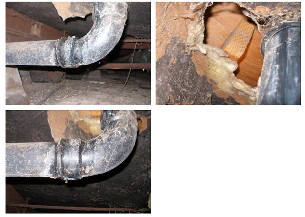 Home Inspection Camarillo - Leaky Drain Pipe
